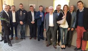 Les membres DCF en visite chez Rexel