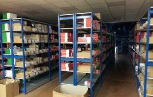 Racks de stockage de matériels électriques chez Rexel