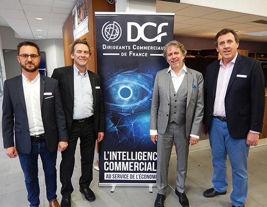 JF Hadida et les Présidents DCF