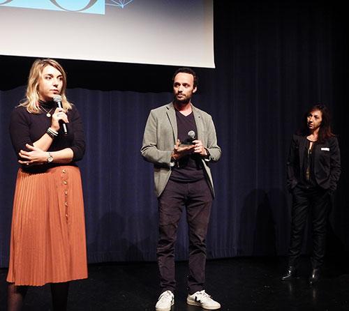 Maxime Richard et Gwénaëlle Gonzalez de NUOO récompensés par un DCF Award