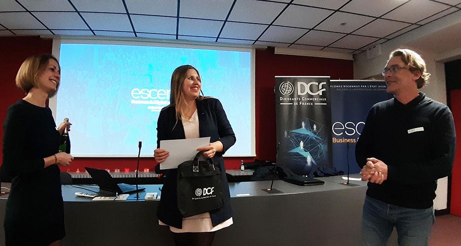 Intronisation d'une nouvelle membre aux DCF Orléans