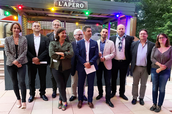 DCF Orléans - Intronisation de 5 nouveaux membres accompagnés de leurs parrains